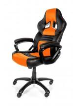 AROZZI herní židle MONZA/ černooranžová