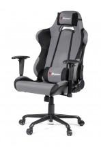 AROZZI herní židle TORRETTA XL/ černošedá