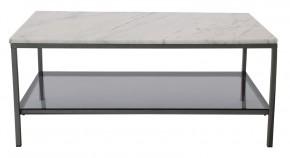 Ascot - Konferenční stolek, obdélník (přírodní mramor, ocel)