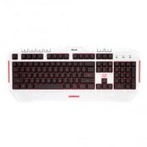 ASUS keyboard Cerberus ARCTIC Keyboard CZ/SK POUŽITÉ, NEOPOTŘEBEN
