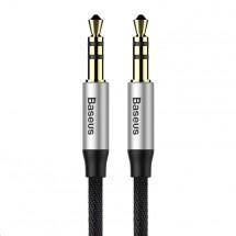 Audio kabel Baseus Yiven M30 3.5mm, jack/jack, 0,5m, černá