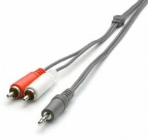 Audio kabel vivanco V30191 1x Jack / 2x Cinch 5m