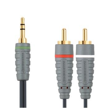 Audio kabely, repro kabely + konektory Bandridge BBM22000W10