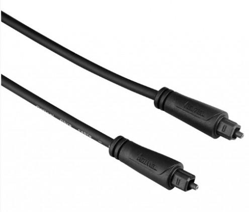 Audio kabely, repro kabely + konektory Optický audio kabel Hama 122252 ODT, vidlice-vidlice, 3m