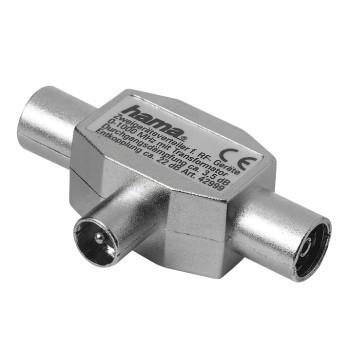 Audio kabely, repro kabely + konektory Rozbočovač pro rádio, koaxiální vidlice - 2 koaxiální zásuvky