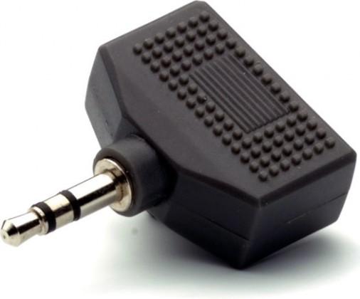 Audio kabely, repro kabely + konektory Rozbočovač Vivanco 30199, jack/2xjack
