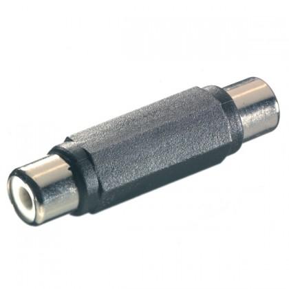 Audio kabely, repro kabely + konektory Vivanco spojka Cinch-Cinch 41035