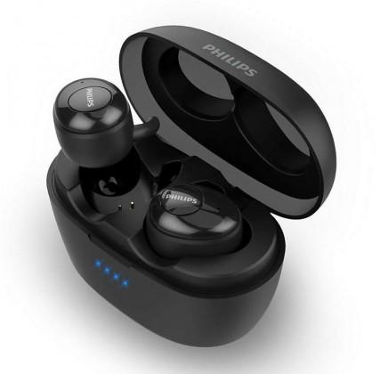 Audio ZLEVNĚNO Bezdrátová sluchátka Philips SHB2505BK, černá