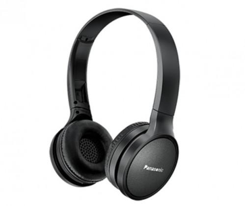 Audio ZLEVNĚNO Bezdrátová sluchátka přes hlavu Panasonic RP-HF410BE-K, černá