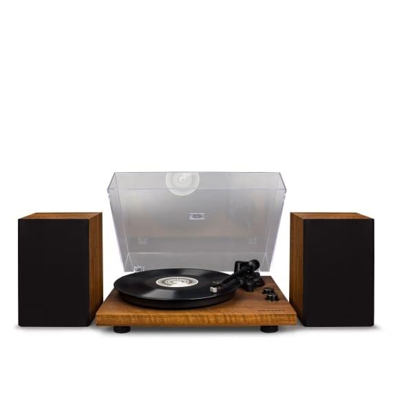 Audio ZLEVNĚNO Crosley C62 - Walnut POUŽITÉ, NEOPOTŘEBENÉ ZBOŽÍ