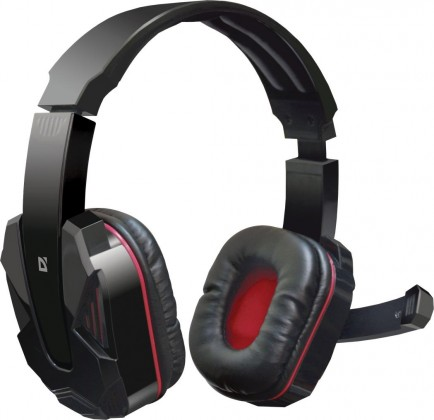 Audio ZLEVNĚNO Defender Warhead G-260 černo červené 64121