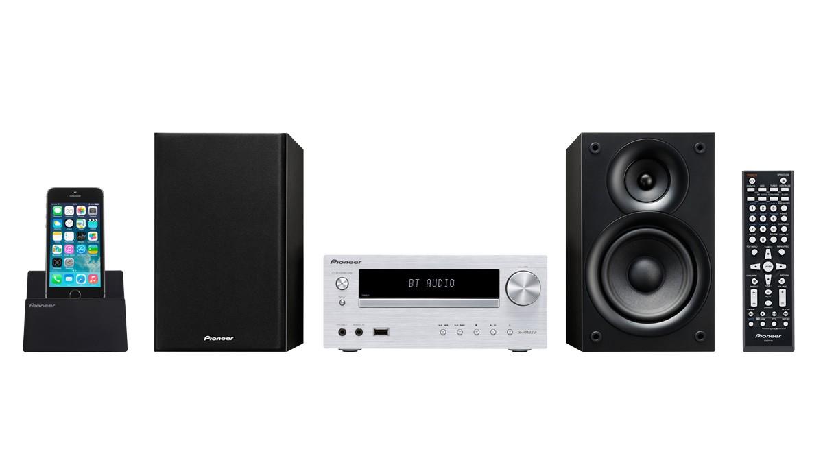 Audio ZLEVNĚNO Pioneer X-HM32V-S POUŽITÉ, NEOPOTŘEBENÉ ZBOŽÍ