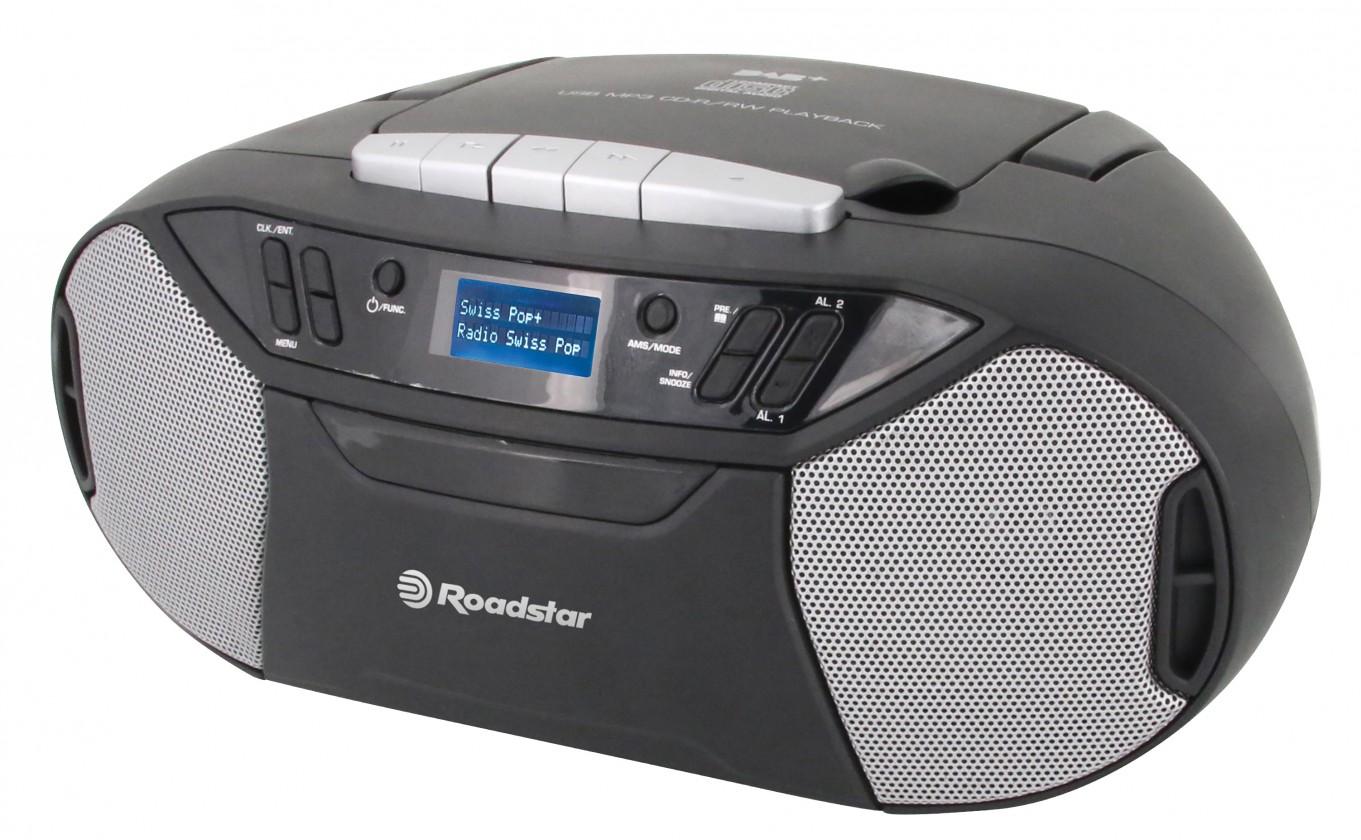 Audio ZLEVNĚNO Rádio Roadstar RCR-777UD s CD, USB, DAB+ a digitálním FM tunerem