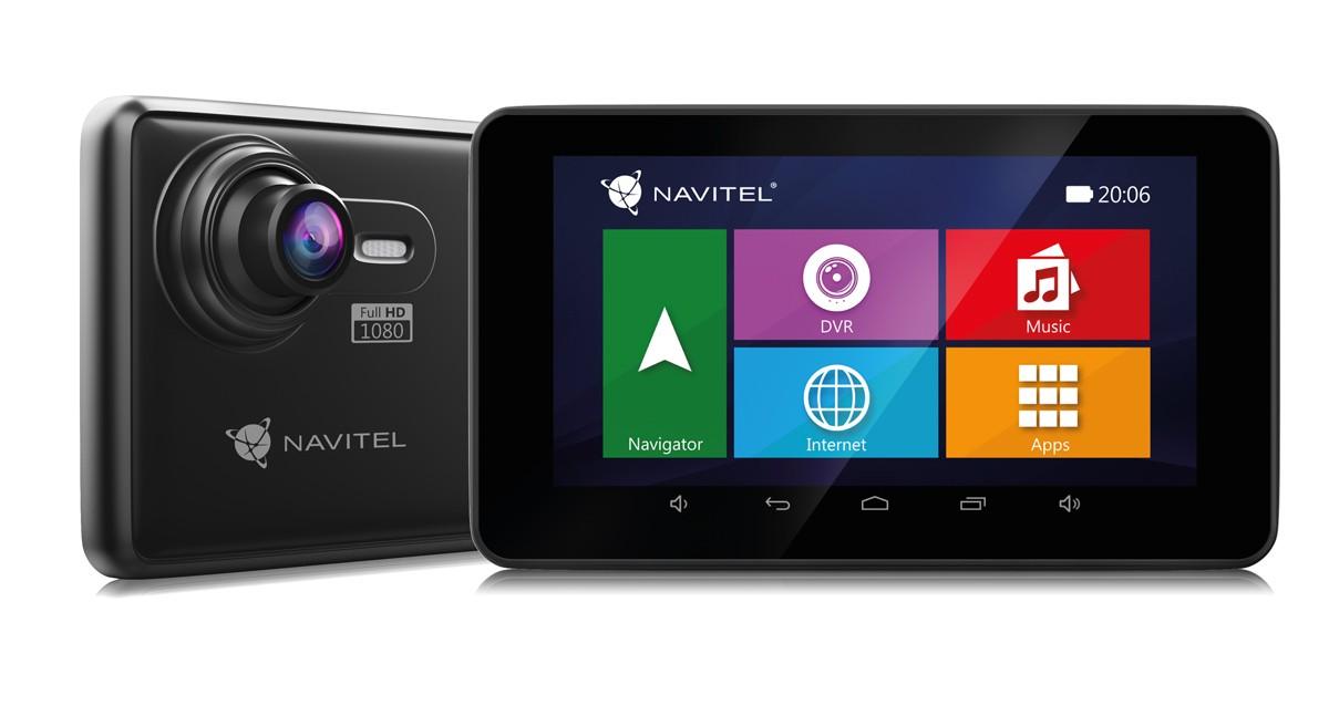 """Auto navigace 2v1 Kamera+GPS Navitel RE900 5"""", Truck, 140°, 47 zemí, LM"""