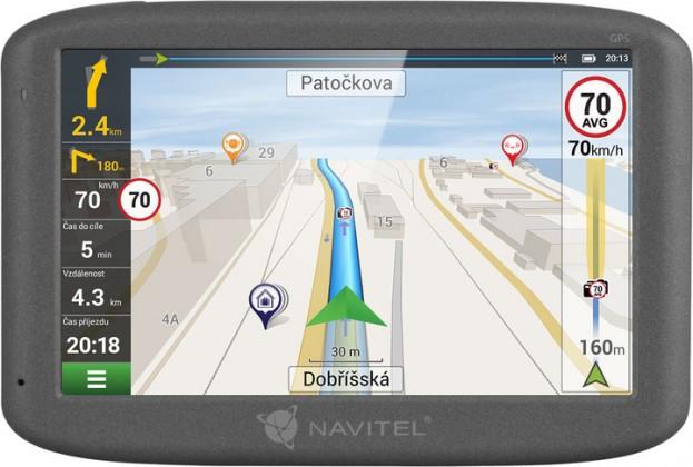 """Auto navigace GPS Navigace 5"""" Navitel F150 LM, 5 zemí, Speedcam NEKOMPLETNÍ PŘÍ"""