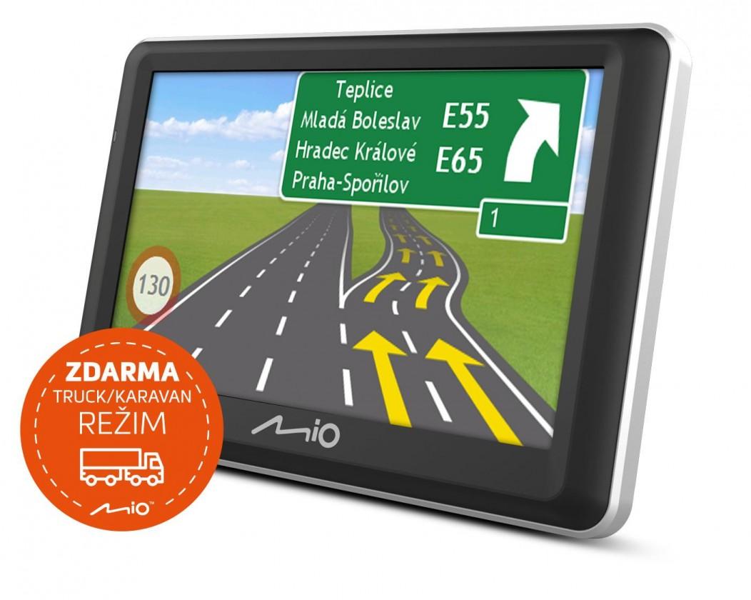 """Auto navigace GPS Navigace Mio Spirit 7800, 5"""" doživotní aktualizace"""