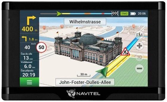 """Auto navigace GPS Navigace Navitel E500 5"""", Truck, speedcam, 47 zemí, LM"""
