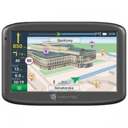 """Auto navigace GPS Navigace Navitel E505 5"""", Truck, speedcam, 47 zemí, LM"""