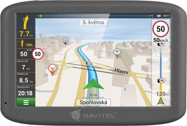 """Auto navigace GPS Navigace Navitel F300 5"""", Truck, speedcam, 47 zemí, LM"""