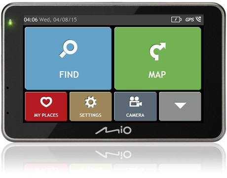 Auto navigace Mio Combo 5207 FULL EUROPE LM plus 8GB SD card