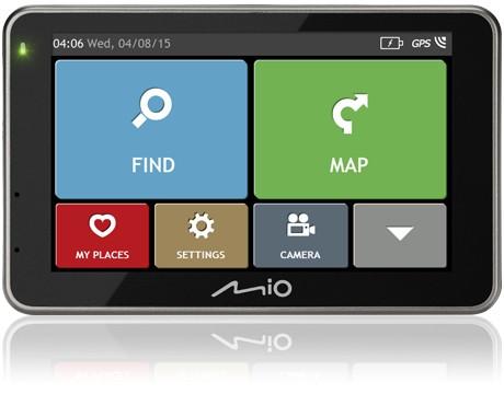 Auto navigace Mio combo 5207 FULL EUROPE TRUCK LM plus 8GB SD card