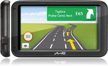Auto navigace MIO MOOV M610 FULL EUROPE