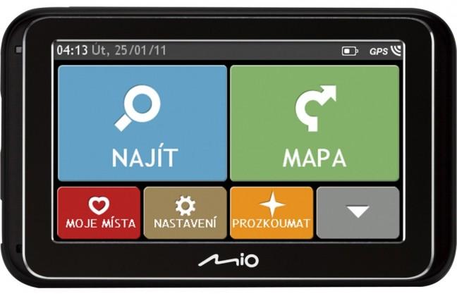 Auto navigace MIO Spirit 4900u Lifetime