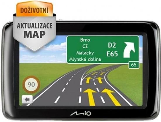 Auto navigace MIO Spirit 495 Full Europe Lifetime