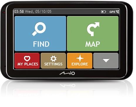 "Auto navigace MIO Spirit 6900u GPS navigace, LCD 5"", mapy EU (44) Lifetime"