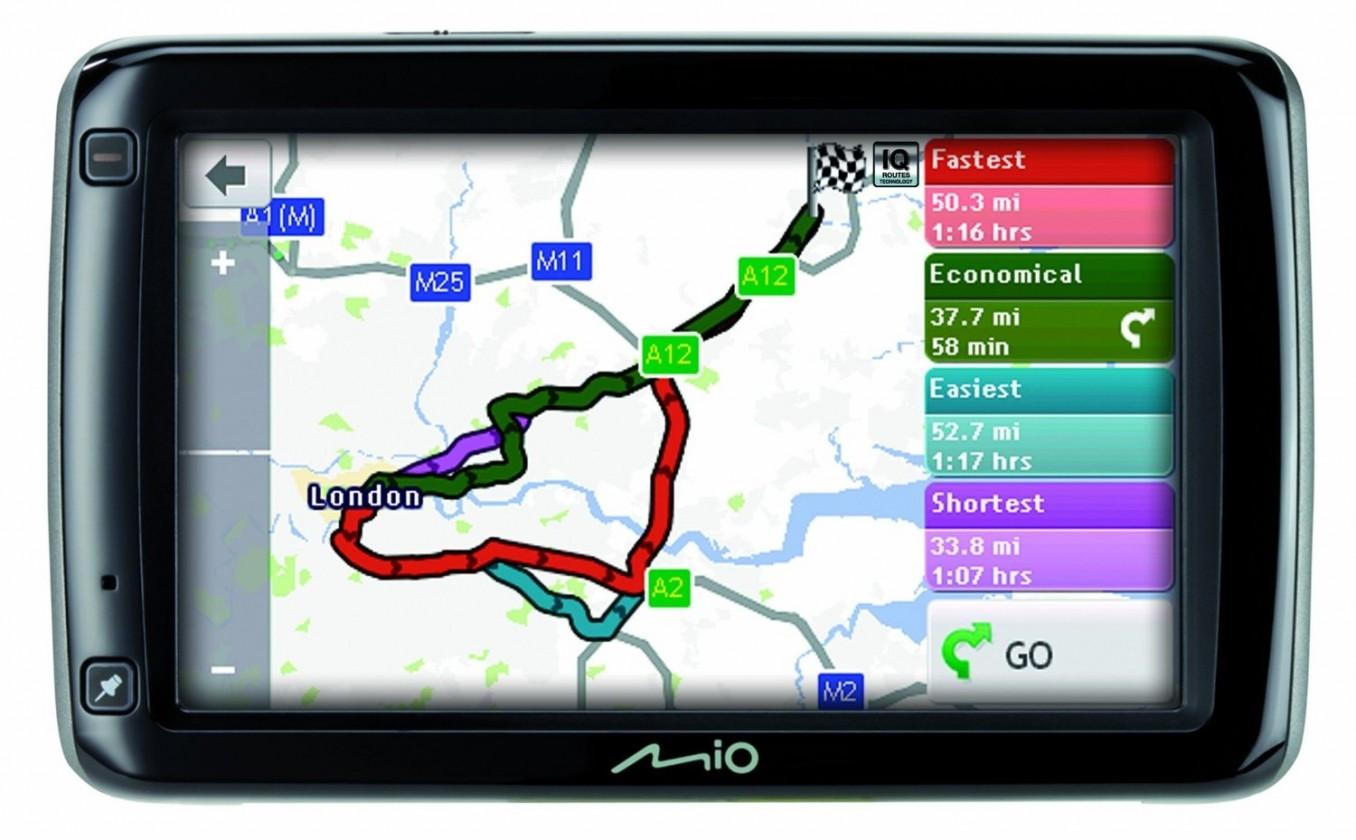 Auto navigace MIO Spirit 697 Full Europe Lifetime