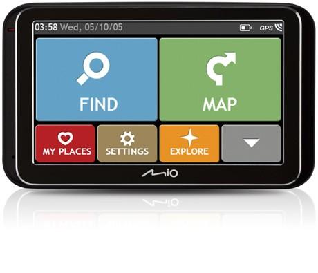 Auto navigace MIO Spirit 6970u GPS, 5'', EU LIFETIME