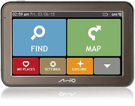 Auto navigace MIO SPIRIT 7500 FULL EUROPE 7PPC inc LIFETIME MAP VOUCHER POUŽITÉ
