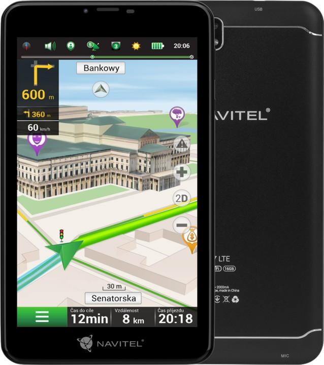"""Auto navigace Tablet s GPS navigací 7"""" Navitel T757 2GB/16GB LTE, LM, 47 zemí P"""