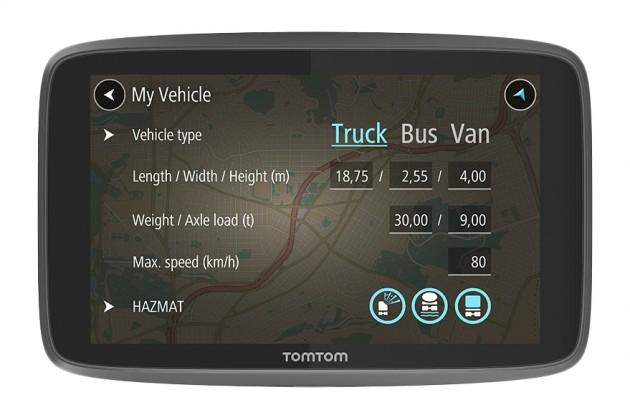 Auto navigace TomTom GO Professional 6200 Lifetime