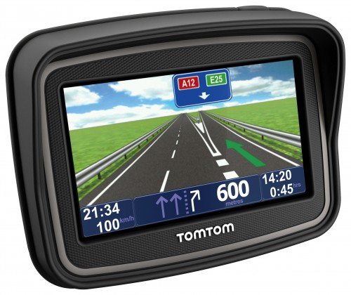 Auto navigace TomTom Rider v4 Europe Lifetime