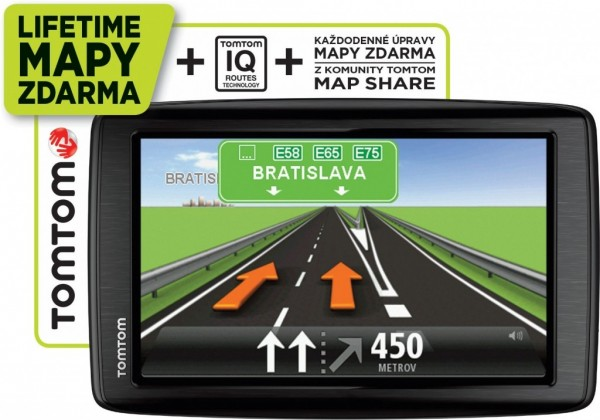 Auto navigace TomTom Start 25 Regional Lifetime ROZBALENO