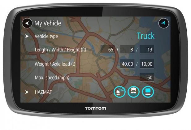Auto navigace TomTom TRUCKER 5000 Lifetime mapy