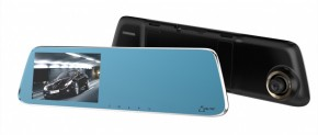 Autokamera Celtec M6 DUAL, přední + zadní kamera