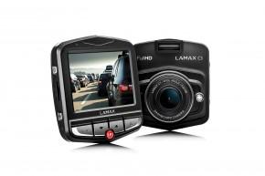 Autokamera Lamax DRIVE C3, FULL HD, 2 držáky + dárek