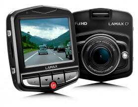 Autokamera Lamax DRIVE C7, FULL HD s WDR + dárek