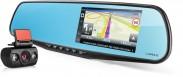 Autokamera Lamax DRIVE S5 NAVI PLUS, zrcátko + zadní kamera