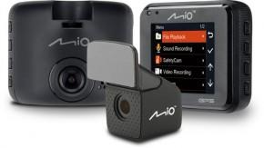Autokamera Mio MiVue C380 DUAL, GPS, přední + zadní kamera