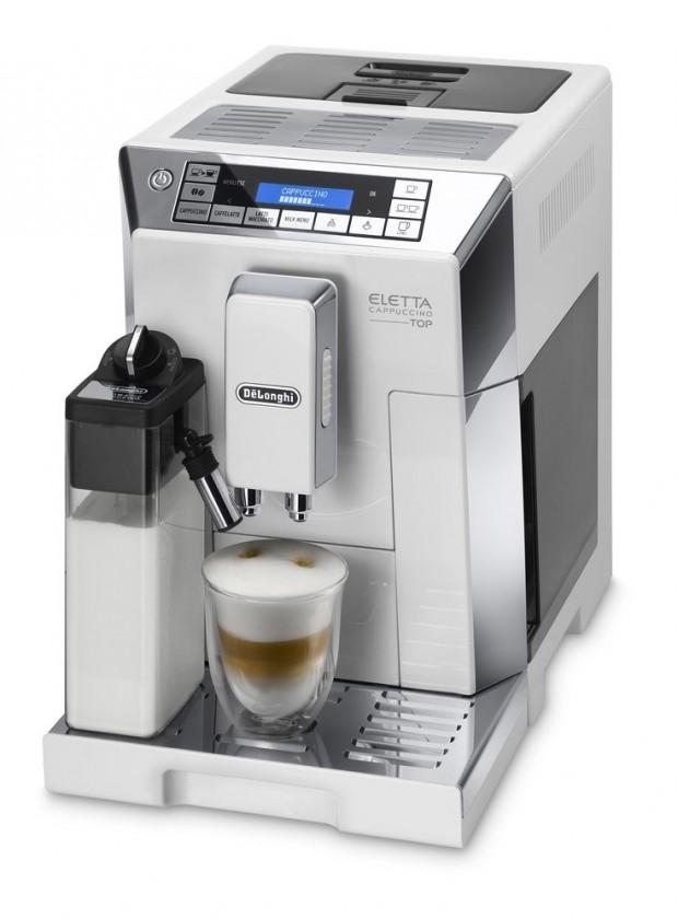 Automatická espressa Automatické espresso DéLonghi ECAM 45.760 W Eletta