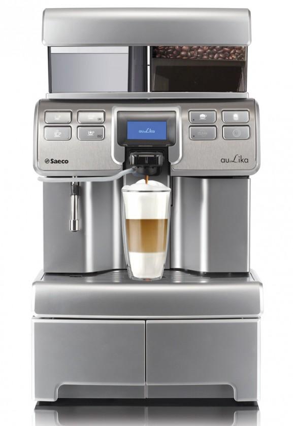 Automatická espressa Automatické espresso Saeco Aulika HSC RI + stojan