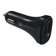Autonabíječka WG 2xUSB 5,4A + kabel USB Typ C s rychlonabíjením