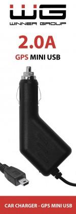 Autonabíječka WG s Mini USB, 2A, pevná