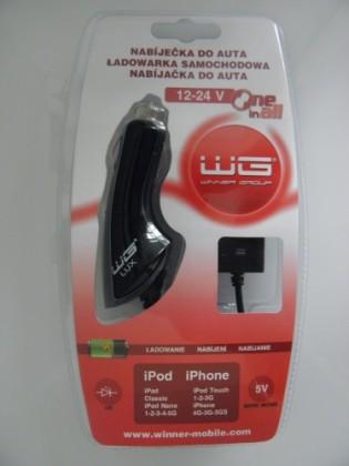 Autonabíječky (12V) Winner autonabíječka iPhone