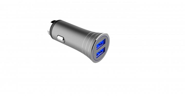 Autonabíječky Autonabíječka WG 2xUSB 3,1A + kabel USB Typ C