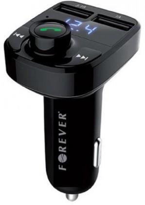 Autopříslušenství FM Transmitter Forever FMTR330BK, bluetooth, TR-330 s LCD