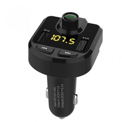 Autopříslušenství Transmitter MKF, BT+USBnabíječka MKF-BT36